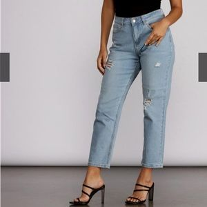 High waisted jeans BRAND NEW with tags!